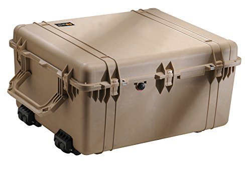 Pelican 1690 Camera Case With Foam (Desert Tan) by Pelican