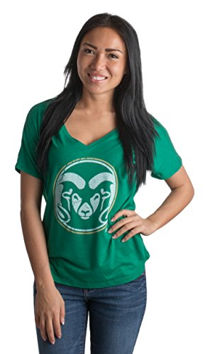 (Colorado State University | CSU Rams Vintage Style Ladies' V-Neck Flowy)