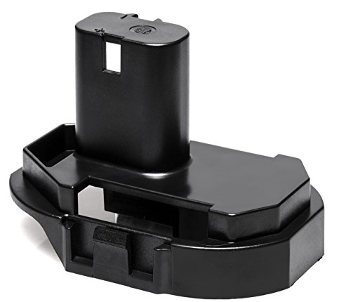 Pwr+ 18V Makita Battery Adapter Replacement for Makita BL1830 BL1815 1822 1833 1834 LXT211 LCT200W BFR750Z BHP452 BTD142 BTW450 Nicad NiMH Pod Style Drill JigSaw Cordless Recycle Power Tool Repair
