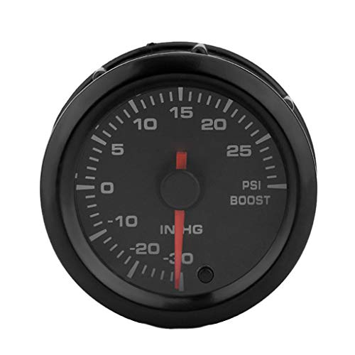 shangjunol 12V Universal Car Round Boost Pressure Gauge: Amazon.co.uk: Electronics