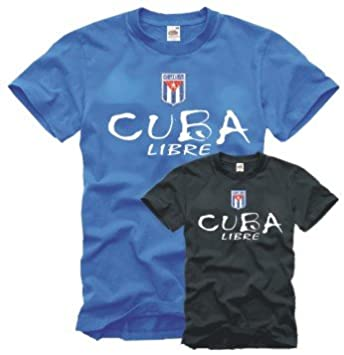 Shirtwerk Cuba Libre - Camiseta con Escudo Bordado (Tallas S - XXL)  Amazon. es  Deportes y aire libre 21e7d4d4ffa52