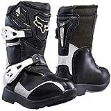 Fox Racing 2019 Comp 5K Boots - Pee Wee (11) (BLACK/SILVER)
