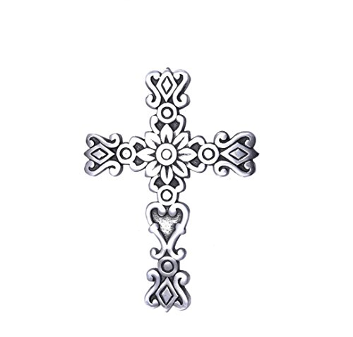 Sammsara Crosses Wall décor Western Hanging Cross Wall Decor Christmas Crosses Wall décor Decorative Crosses Wall décor L-24 B-13 cm. ()