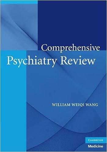 Comprehensive Psychiatry Review (Cambridge Medicine