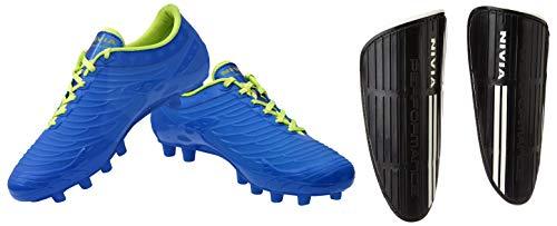 Nivia Dominator Football Shoes   Blue