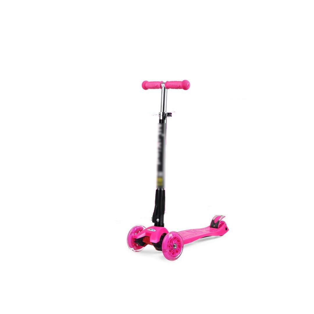 当季大流行 TLMYDD TLMYDD Pink 子供の折りたたみスクーター赤ちゃんカエルスクーター三輪四輪スクーターフラッシュはベビーカーを持ち上げることができます 子供スクーター (色 : Green) B07NRRVJ92 Pink B07NRRVJ92 Pink, パーティードレス リュクス ミモザ:2c11ea5a --- a0267596.xsph.ru