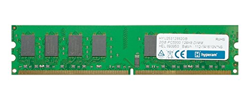 Hypertec Hyperam 2GB DDR2 667MHz PC2-5300 CL5 Non-ECC 240-pin DIMM -