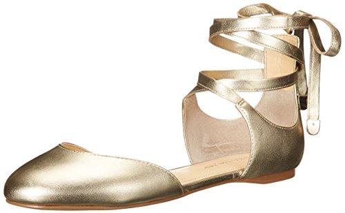 Flat Women's Gold Elise Trump Ivanka Ballet 75wXIwqn4