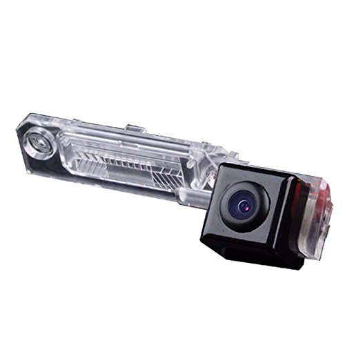 Navinio Backup Camera Car,Rear-View License Plate Car Rear View Parking Camera VW Caddy B5 B6 Passat 3C Variant Touran VW Golf IV Golf Plus Sharan Skoda Superb I Multivan T5