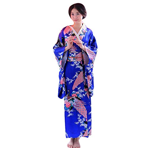 TANGSen Women's Fashion Print Kimono Robe Loose Japanese