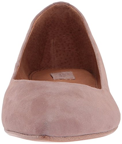 Ballet Women's M Suede Pink FRYE Sienna Flat 10 US qEAP4dw