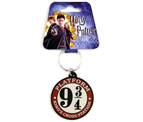 Harry Potter Hogwarts Crest Pewter Porte-Cl/és