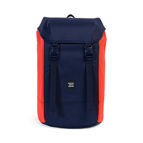 Herschel Supply Co. Iona Backpack, Peacoat/Hot Coral