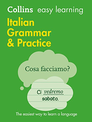 Easy Learning Italian Grammar And Practice  Collins Easy Learning