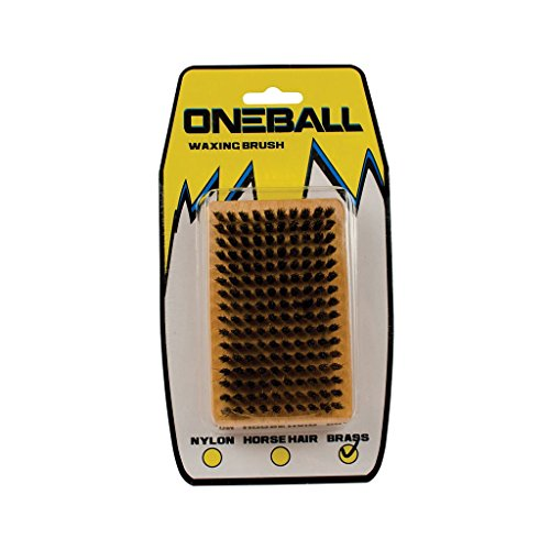 OneBallJay Brass Brush One Color, One Size by ONEBALL