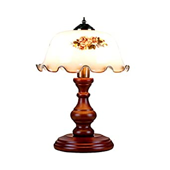 Retro Nostalgischen Stil Tischlampe Hochwertige Glas Lampenschirm
