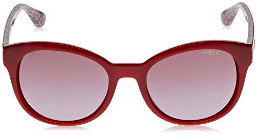 Mujer de Rojo para Violetgradient Vogue Gafas Sol Red 5UqwTwIPx