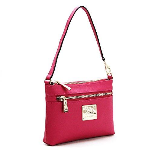 robert-matthew-sofia-24k-gold-leather-shoulder-clutch-pink-ruby