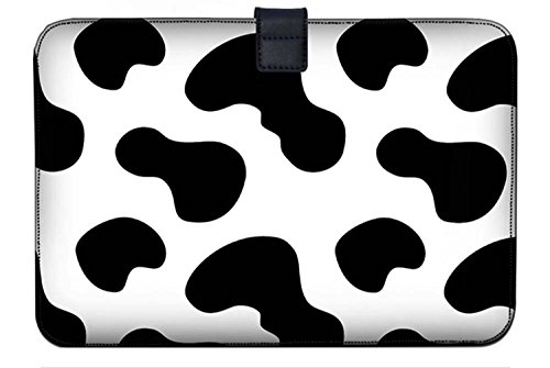 Luxburg Super Slim Sleeve Soft Case Bag for 13-13.3 inch Apple MacBook/Air/Pro/Retina/PowerBook G3/G4/iBook - Cow Patches