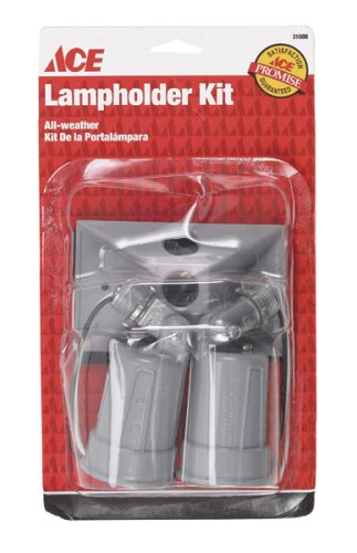 Weatherproof Lampholder Cover Assembly - 6