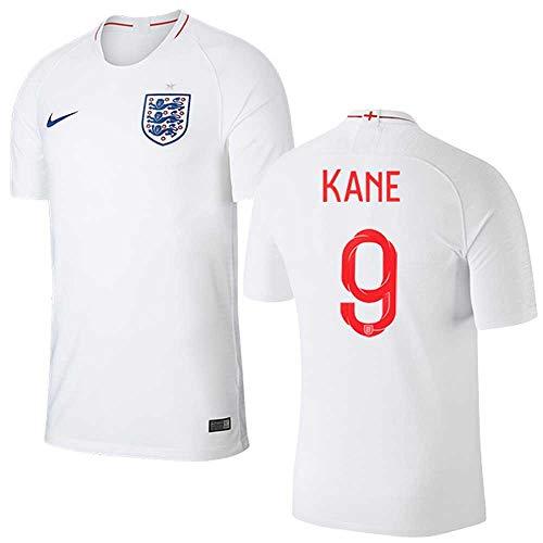 掃除に向けて出発更新するサッカーイングランド(England) 代表Harry Kaneワールドカップ 2018 ホームユニフォーム半袖