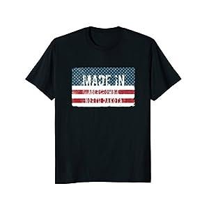 Made in Abercrombie, North Dakota T-shirt