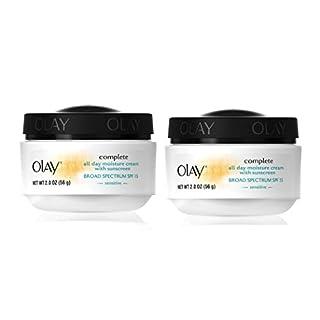 Olay Complete All Day UV Moisture Cream, Sensitve Skin - 2 oz - 2 pk