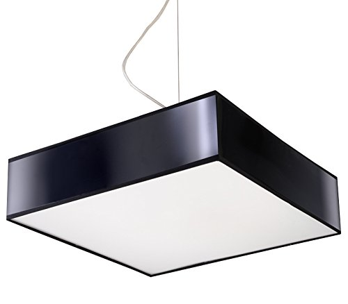 Lámpara de techo LED ready CASA OFICINA - MITRA 35 BLACK NL ...