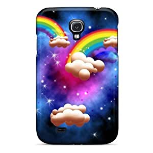 Snap-on Case Designed For Galaxy S4- Iphone Cartoon Wallpaper 2