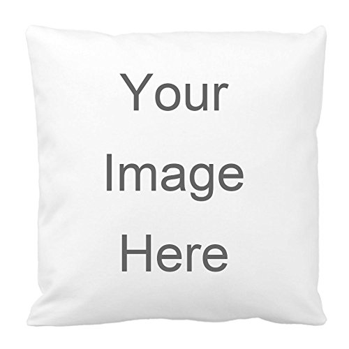 Design Image or text Print Pillow Cover Custom Personalized Throw Pillow Case Pillowcase (16