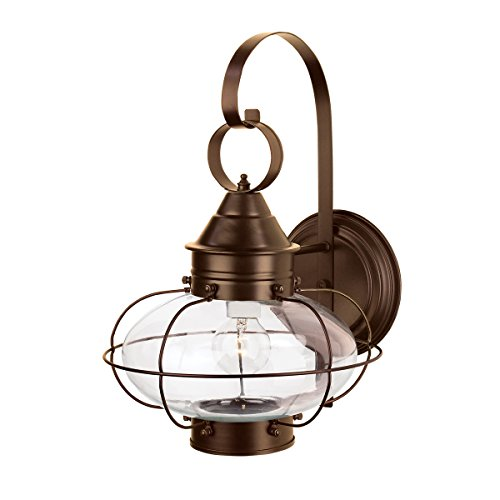 Norwell Lighting 1324 Large Cottage Onion (Bronze w/Clear Glass)