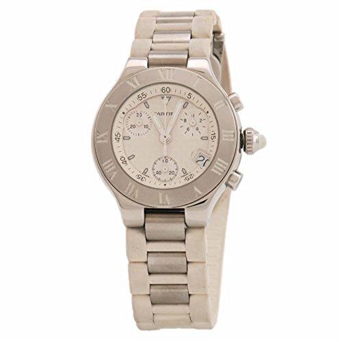 Cartier Must 21 swiss-quartz womens Watch 2996 (Certified Pre-owned)