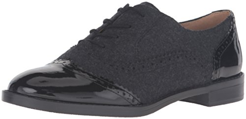 Franco Sarto Women's L-Imagine Oxford, Black, 7 M US