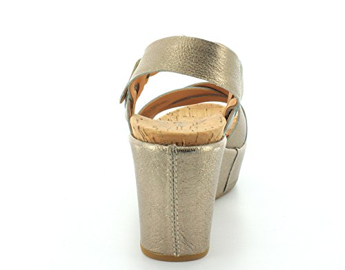 0 2 Womens Ava Kork Soft Ease Wedge Gold zfqapp
