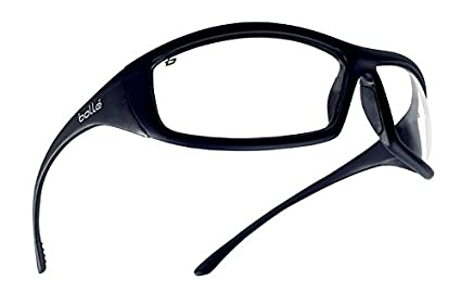 2113a78c740 Bollé Safety 253-SS-40062 Solis Safety Eyewear with Shiny Black ...