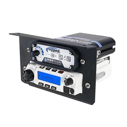 (Rugged Radios MT-XP1-RM60 Mobile Radio & Intercom Mount for Polaris RZR XP1000)