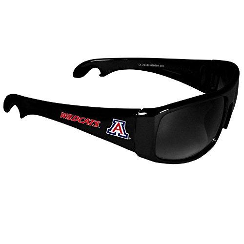 (NCAA Arizona Wildcats Wrap Bottle Opener Sunglasses)