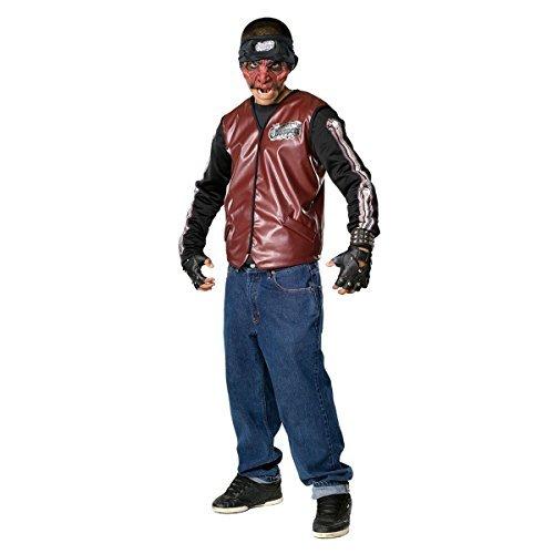 Teen Scary Doom Rider Biker Costume - Teen (Jacket -