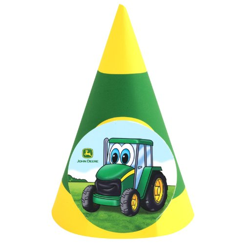 John Deere Johnny Tractor Cone Hats (8)