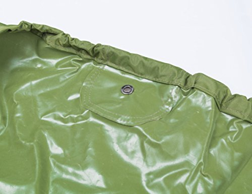"""RORAIMA Lawn Mower Tractor Cover with Elastic Hems to Fit a Deck up to 54"""" Green Color Product Size 72"""" L x 44"""" W x 46"""" H (Green Color)"""