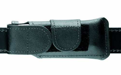 Horizontal Magazine Pouch - Safariland 123 Concealment Magazine Holder, Black Plain 123-83-2