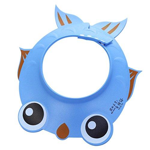 Fabal Adjust Shampoo Shower Bathing Bath Protect Soft Cap Hat for Baby (Fish ()