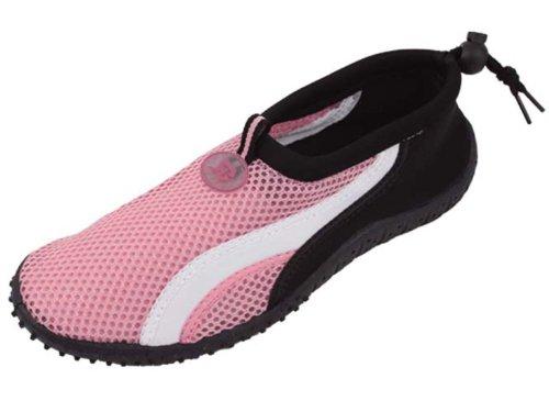 Slip B2906A Water on Women's Dance SBV Pink 1 Colors Pool 6 Sport Beach Yoga G4U Aqua Surf Socks Shoes 5tq08