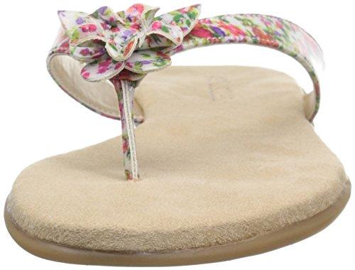 Aerosoles Womens Branchlet Flip-flop Roze Bloemen