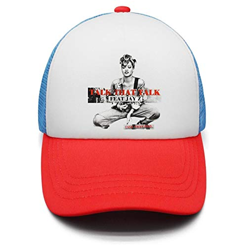 9d571672eda4d AnKCool Designer Snapback Caps Men Women Black Ri-Han-Na-Talk-That-Talk-Girl-  Snapback Hat at Amazon Men s Clothing store