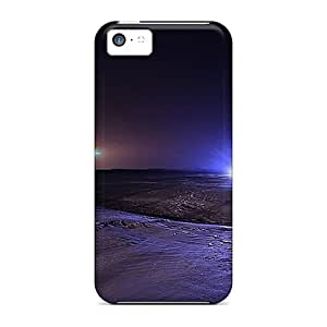 New Fashion Premium Tpu Cases Covers For Iphone 5c - Midnight Glow