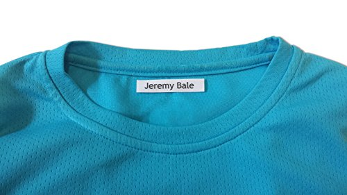 100 Personalised Iron-on Fabric Labels to Mark Your Clothes. Gentle with Your Kids Skin, for Children's School Uniform / Clothes / Clothing Labels for Kids, Baby and Children. SEND TEXT in GIFT MESAGE