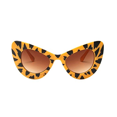 BEUU Sunglasses Cat Eye Glasses Women Classic Big Oversized Thick Gothic Plastic Vintage (C) (Cap Classic Pooh Classic)