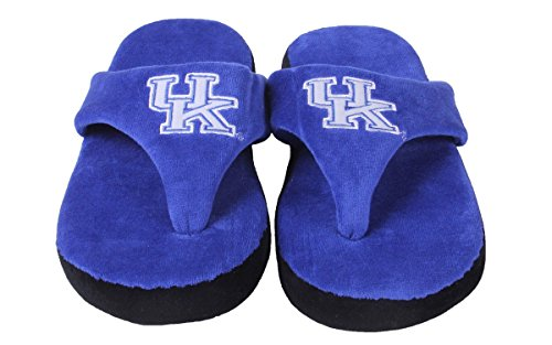 OFFICIALLY and Wildcats Mens Feet NCAA Happy Comfy LICENSED Womens College Kentucky Flop qq8P0Ut