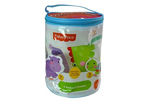 Fisher-Price Rainforest Foam Bath Puzzle Toy -